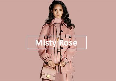 薄霧玫瑰--女裝單色趨勢