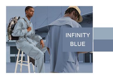 无限灰蓝--男装色彩演变