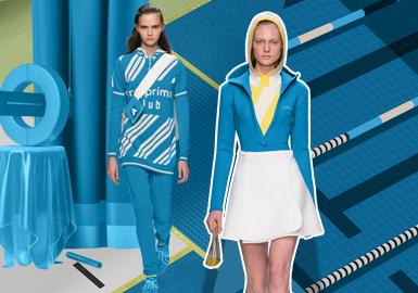 動力藍--女裝主題色彩趨勢預測