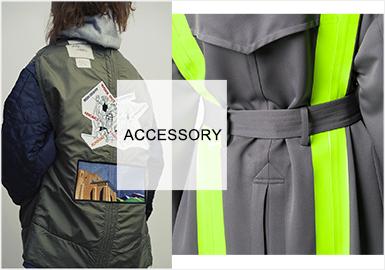 潮酷十足的派克裝飾--男/女裝派克服輔料趨勢