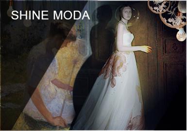 油畫中的繆斯--SHINE MODA女裝婚紗設計師品牌分析