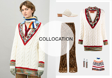 追溯柔暖的粗織本源--女裝毛衫組貨搭配