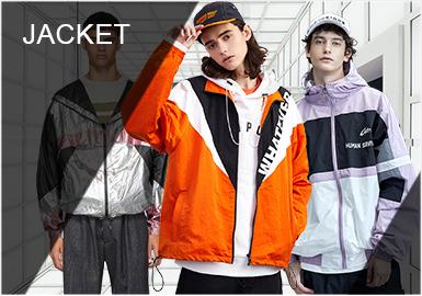 風行開始于上世紀80年代的夾克衫是人們現代生活中最常見的一種,也成為男士穿搭中不可或缺的一件單品。在實穿性及時尚度方面做到更融合消費者需求的夾克,在現今各大品牌的設計上多以拼接、廓形、面料、圖案等方面突顯。
