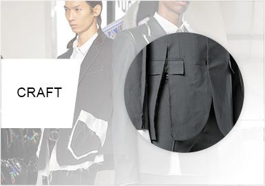 重塑個性細節 -- 男裝西裝工藝趨勢