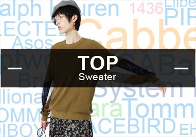 根據對POP2019年上半年毛衫行業熱搜零售品牌TOP30的數據整理、男裝毛衫主流風格和關鍵設計元素占比的提煉,結合國內毛衫市場熱門話題與爆款單品帶來這份熱搜品牌分析報告,并就市場工藝趨勢做前瞻性預測。