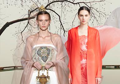 穿越千年的傳統美--女裝現代漢服元素企劃