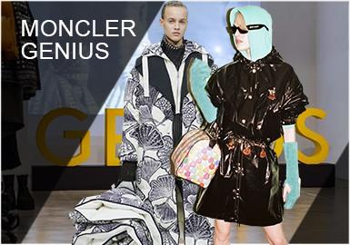 Moncler Genius 项目呈现了与知名设计师的一系列跨专业创新合作系列。 作为 Moncler 首席执行官,Remo Ruffini 进一步拓宽这个意法品牌概念范畴的一种方式,这些基础单品系列选择标志性的风尚元素,以导演视角得到重新演绎。