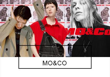 8月20日晚,MO&Co.15周年大秀在上海举行。一场MO Girls的摇滚狂欢上演,这场秀带来的不仅是风格和形象,更是强烈的态度、情绪和自我。黑和白交替,酷和美并存,以48个黑白为主色调的Look致敬Coolness。从精致轻薄的蕾丝内搭,到带着复古摇滚色彩的皮革单品,再到颇具先锋性的解构式薄纱西装、衬衫,MO&Co. 15 周年系列试图以多元性与丰富趣味将女孩的每一种性格、情绪和面貌囊括其中。与酷相关的风格元素在这里被拆解、重组和突破,真实、自我的Youth Culture被推向台前。