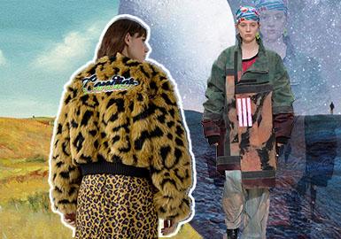 探索者聯盟--女裝皮草主題色彩趨勢