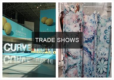 UBM Fashion旗下一年两度的Curve内衣展是面向大型专业销售商的内衣行业专业展览会。展出的主要产品是内衣与沙滩服装,比如日夜间的内衣、男女沙滩服、泳衣、睡衣、文胸和各种运动服等。类型多达60多种。其中无钢圈文胸是设计的重点趋势,抢眼印花和图案同样值得关注。