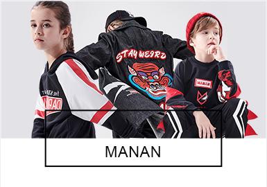 不羁个性的潮流囡--MANAN童装标杆品牌