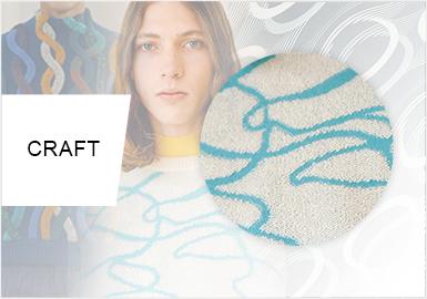 線性藝術--男裝毛衫工藝趨勢