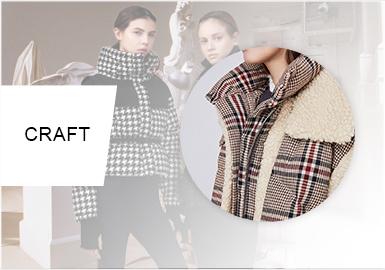 棉羽絨的拼接遐想--女裝棉服/羽絨服工藝趨勢預測