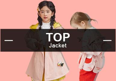 在9月份女童夾克款式爆款分析數據中,休閑風格占比最高,日韓風格有所下降。圖案元素方面植物花卉元素下降,字母、動物元素比例上升。工藝方面繡花與定位印花占比接近,拼接工藝回到第一。