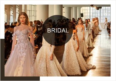 由于國際局勢的演變,中東世界備受矚目。在新季時裝秀上中東風的設計頻繁出現,這是服裝設計的一塊新市場。蕾絲作為一種可以媲美珠寶的奢侈品在貴族階層廣泛流傳,亦是中東風婚紗的常用及主要元素之一。中東風婚禮服最善于以蕾絲、珠鉆等元素進行疊加運用,打造奢華貴重感。