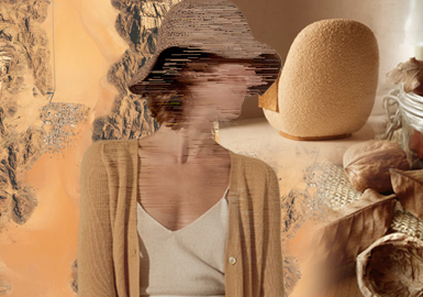 強調自然--女裝毛衫色彩趨勢(綜合)