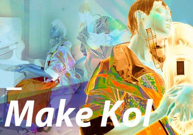 MAKE KOL--女裝主題色彩趨勢驗證