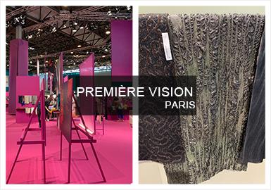 20/21秋冬法国巴黎Première Vision展已落下帷幕,作为世界领先的大型纺织面料展会,需要不断适应时尚行业瞬息万变的局面和压力。2020/21秋冬的焦点是可持续性和科技,本届大会汇聚了超过2000多名展商,展区也分为多个区域展示。作为最大群体的时尚类面料占最大比重,层出不穷的新型面料看的人眼花缭乱,吸引大批访客驻足观看。