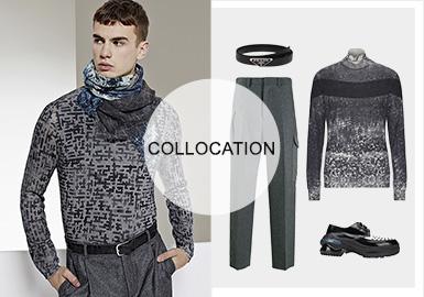 都市探索--男装毛衫组货搭配
