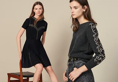 Sandro作为代表巴黎轻奢品牌的先行者,致力于缔造雅致且多元化的男女装精品服饰,简洁精致的剪裁和优雅时髦的气质引人注目。Evelyne Chétrite女士于1984年创立Sandro并担任品牌设计总监至今,集合精致与摩登风格为一体,在阳刚与柔美之间完美平衡,塑造全新中性女装美学。19秋冬的女装毛衫简约利落,低调内敛,解锁品牌这一季的率真法式风格。