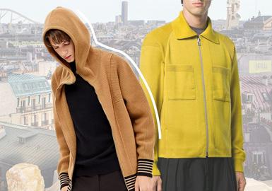 多维碰撞丨风格重置--男装毛衫夹克廓形趋势