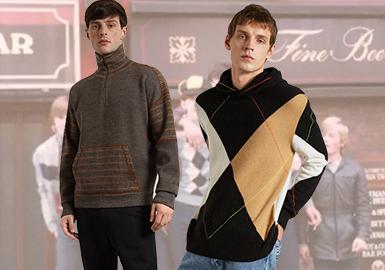"Pringle of Scotland由Robert Pringle和他的搭档于1815年建立并在全球首创了""针织服装""(Knitwear)这一概念,菱形图案和两件套针织衫都受到了英国皇室及好莱坞明星的青睐。19秋冬品牌推出Reissued(经典重现)系列,提取80年代品牌标志性菱格Argyle作为关键元素,重新创作中性款式,再现英国学生、高尔夫运动员以及行业领袖的怀旧风格。"