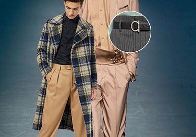別致褲腰--男裝褲裝工藝趨勢