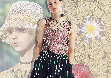 編織工藝--女裝細節工藝趨勢