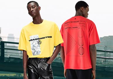 時尚喚醒--男裝T恤廓形趨勢