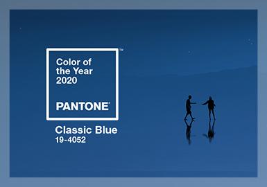 治愈心靈的經典藍--潘通2020年度色
