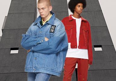 躍動牛仔--男裝牛仔夾克廓形趨勢