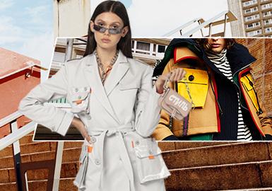传统工装的新时代演绎--女装皮革廓形趋势