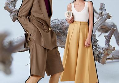 實用褲型--女裝褲子廓形趨勢