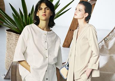 現代化簡約解讀--女裝襯衫廓形趨勢