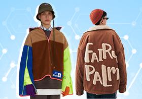 基于POP用户下载互动数据,综合评选出男装皮革皮草单品TOP热榜。在近一个月榜单中,男装皮革皮草款式以商务休闲和时尚休闲风格为主。夹克相较于其他单品,仍居主导地位;时值岁末,尼克服的热度明显降低,皮衣和夹克标签下的款式量增加。受气候回暖影响,薄款棉服/羽绒服款式相比上月略有增加,而厚重的皮毛一体呈现小幅度减少。