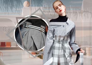 视觉工艺--女装裤子工艺趋势