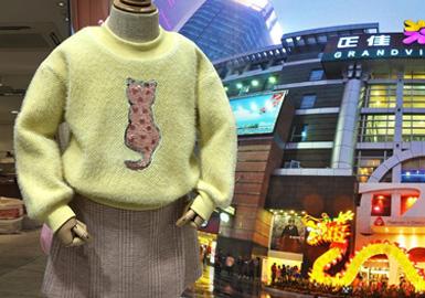 在1月的广州市调以天河又一城、正佳广场等重点商圈与婴幼童批发款式为主。图案与款式的结合依然是广州市场的主要表达手法,代表品牌有Allo&lugh、balabala、Fanapal、jnby BY JNBY、miidiitapir、moimoln重点集中于婴幼童品牌。