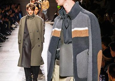 Hermès一直以來強調舒適和實穿性,不靠迎合潮流取悅市場,而是通過每個系列傳遞持久的手工藝匠心和品牌一貫的文化理念,20/21秋冬男裝系列也不例外。Véronique Nichanian有意營造的簡約外廓形線條讓每一套造型干練得體,即使隔著遙遠的距離,依然能讓人感受到高級面料營造出的舒悅感與立體感。服裝精致的內里還帶來實用的雙面穿著體驗。比起春夏系列的明快跳躍,如夜幕般深邃的棕色和黑色調是20/21秋冬的主旋律。對于現代男性完善日常衣櫥而言,本季度Hermès男裝系列的參考價值極高。
