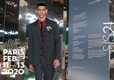 面向全球纺织专业人士开放的法国巴黎Première Vision展在本次将继续围绕环保可持续的理念,而本届参展的1900多家参展商都无一不在他们最新产品中展现出环保与工艺技术的融合创意。其中,商务休闲男装面料做为重要的男装面料之一,以变形再造的方式在此次2021季的法国巴黎PV展凸显出了男士的年轻化设计方向,轻盈柔顺的质感、舒适朴实的织造以及对经典纹样的改良重塑等都是其关键的趋势方向。此外,动感数字化意识也在本届面料产品中有呈现。