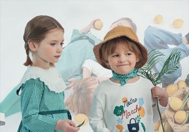 源自韩国的中高端品牌choco.el,是巧克力大象的意思。巧克力被想象成甜美可爱的孩子,大象被想象成母爱的本能。其包括了年龄段为0-12岁的童装服装和配件。20春夏choco.el童装延续优雅的法式风格的同时,重点强调了复古格纹、花卉元素,带着孩子们重返校园。