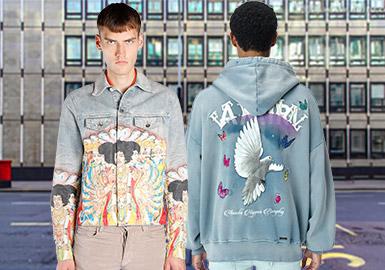 于美国洛杉矶出生的Mike Amiri从青少年时代就备受朋克摇滚以及街头文化之影响,他于2013年推出同名品牌AMIRI,并以此将其独特的时尚理念呈现给众人。AMIRI始终将高品质面料与解构裁剪技艺放在服装设计的首要位置,其服装表现出来的别致而复古的酷炫之感令人过目不忘。个性十足的单品进行混搭呈现出层次感丰富的穿着格调,展现出独特的个性与搭配理念,备受时尚达人与摇滚明星的追捧与喜爱。