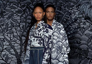 木刻自然 ·Dior —女装图案趋势