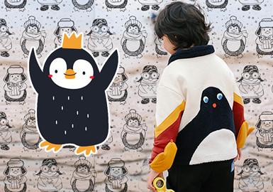 哇!企鹅呀!--童装图案趋势