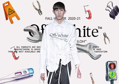 日常物品的艺术时尚--男装图案趋势