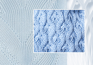 圖繪針法--毛衫工藝趨勢