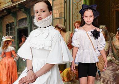 新維多利亞--童裝工藝趨勢