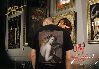 艺术再造--男装图案趋势