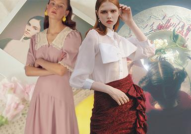 少女的必備元素--女裝工藝細節趨勢