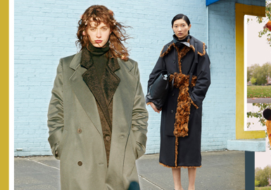 細節精選--女裝大衣細節趨勢
