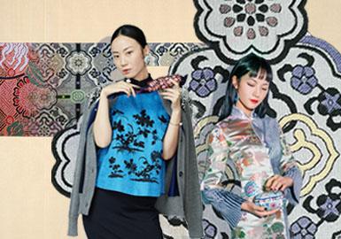 宋錦重生記--女裝主題面料圖案趨勢
